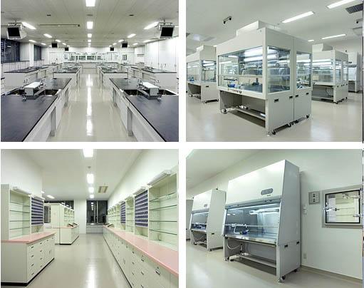 日本某研究机构实验室工程图片